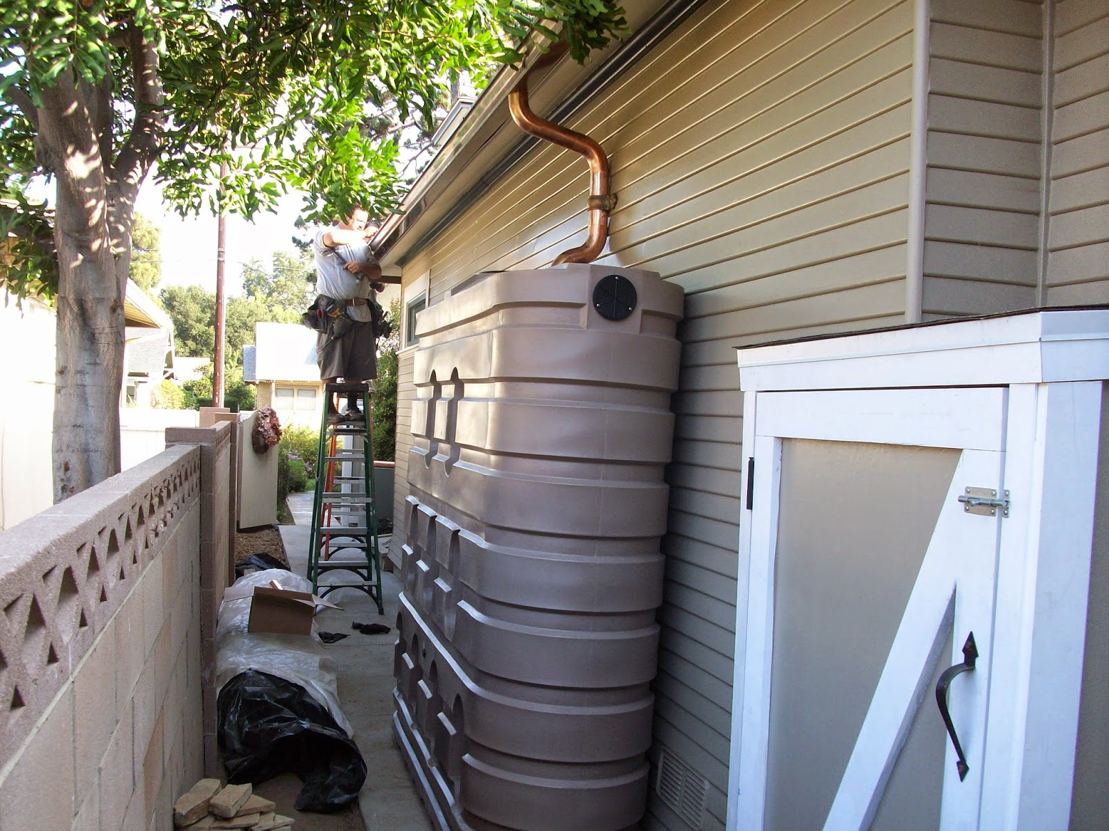 Rain Water Systems Rain Water Harvesting How Not To Do