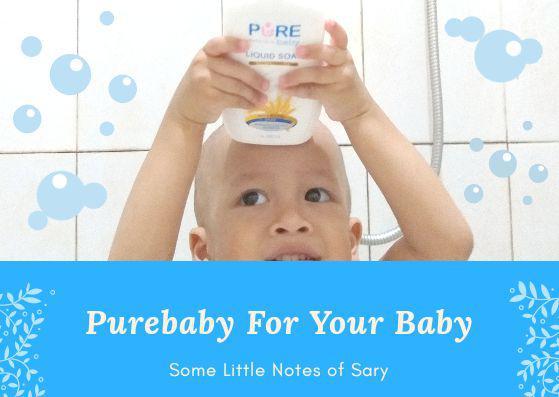 Perawatan Premium Untuk Kulit Bayi Sensitif Dengan Purebaby Liquid Soap dan Purebaby Laundry Liquid