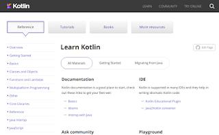 الموقع الرسمى لتوثيق لغة كوتلن