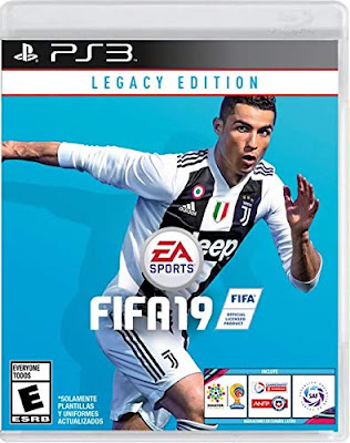 Fifa 19 Game Cover Ps3 Legacy Edition