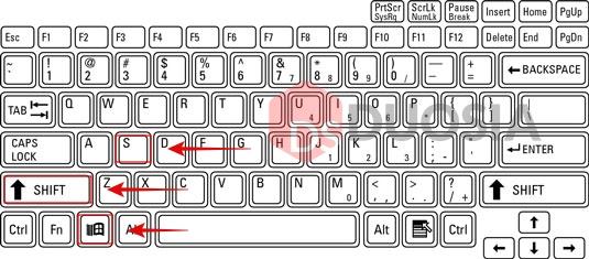 cara screenshot windows laptop