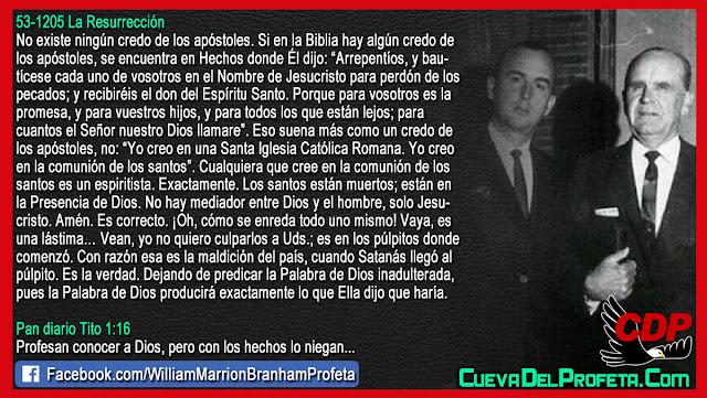 La maldición del país - William Branham en Español
