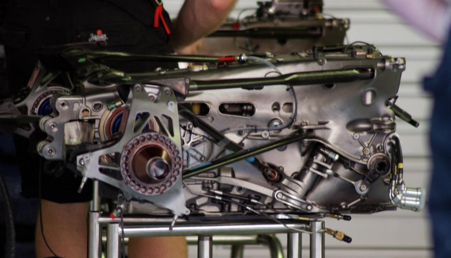 F1 transmission setup 2020