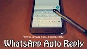 WhatsApp Auto reply trick WhatsApp Latest trick 2018 by GYANPOINTWEB