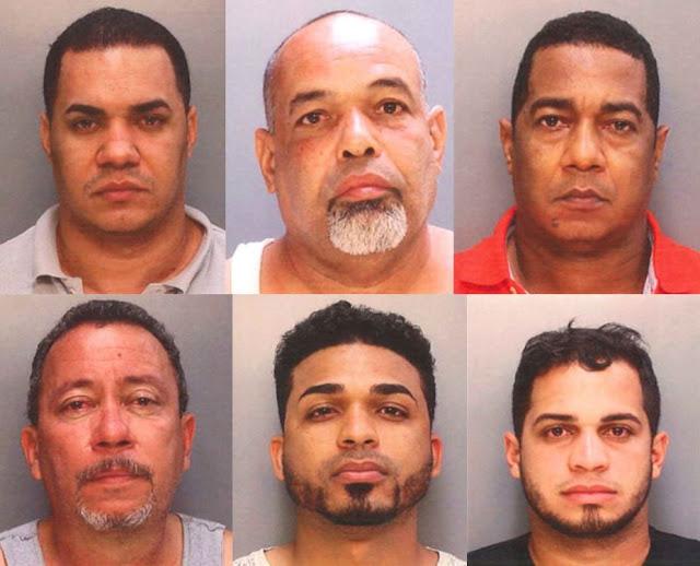 Arrestan seis dominicanos en Pensilvania con cocaína valorada en $23MM y $77.000 en efectivo