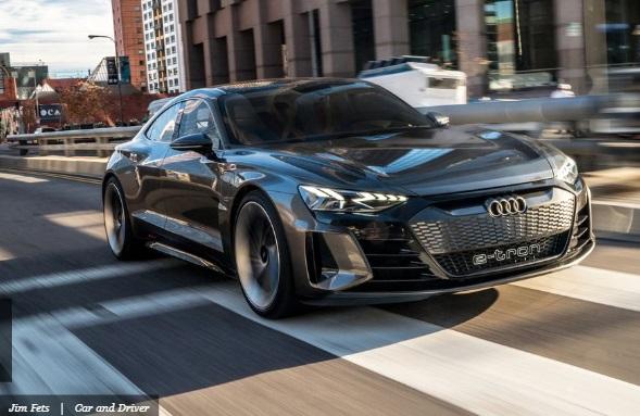 2021 Audi e-Tron GT sumber caranddriver