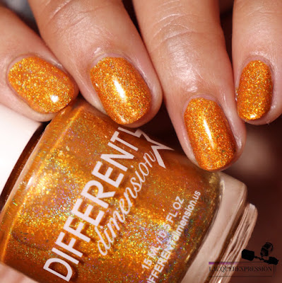nail polish swatch of Boo Felicia by indie maker Different Dimension