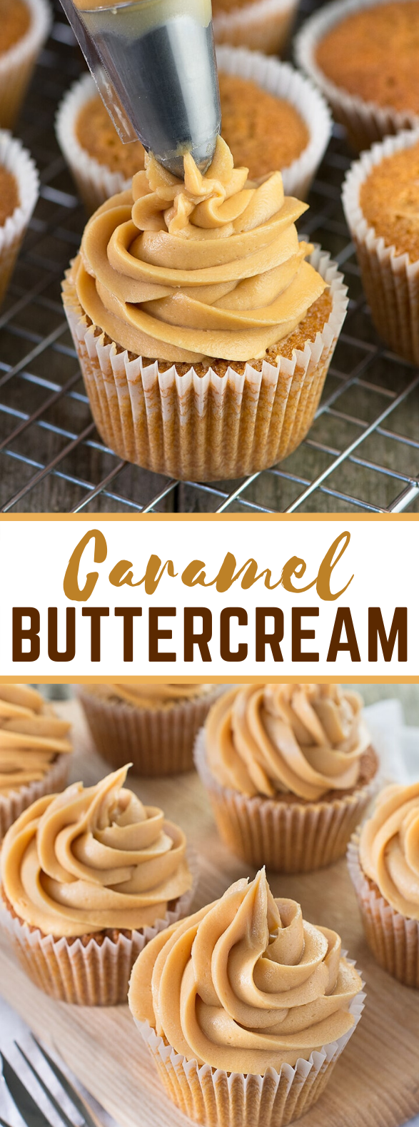 CARAMEL BUTTERCREAM #desserts #cream