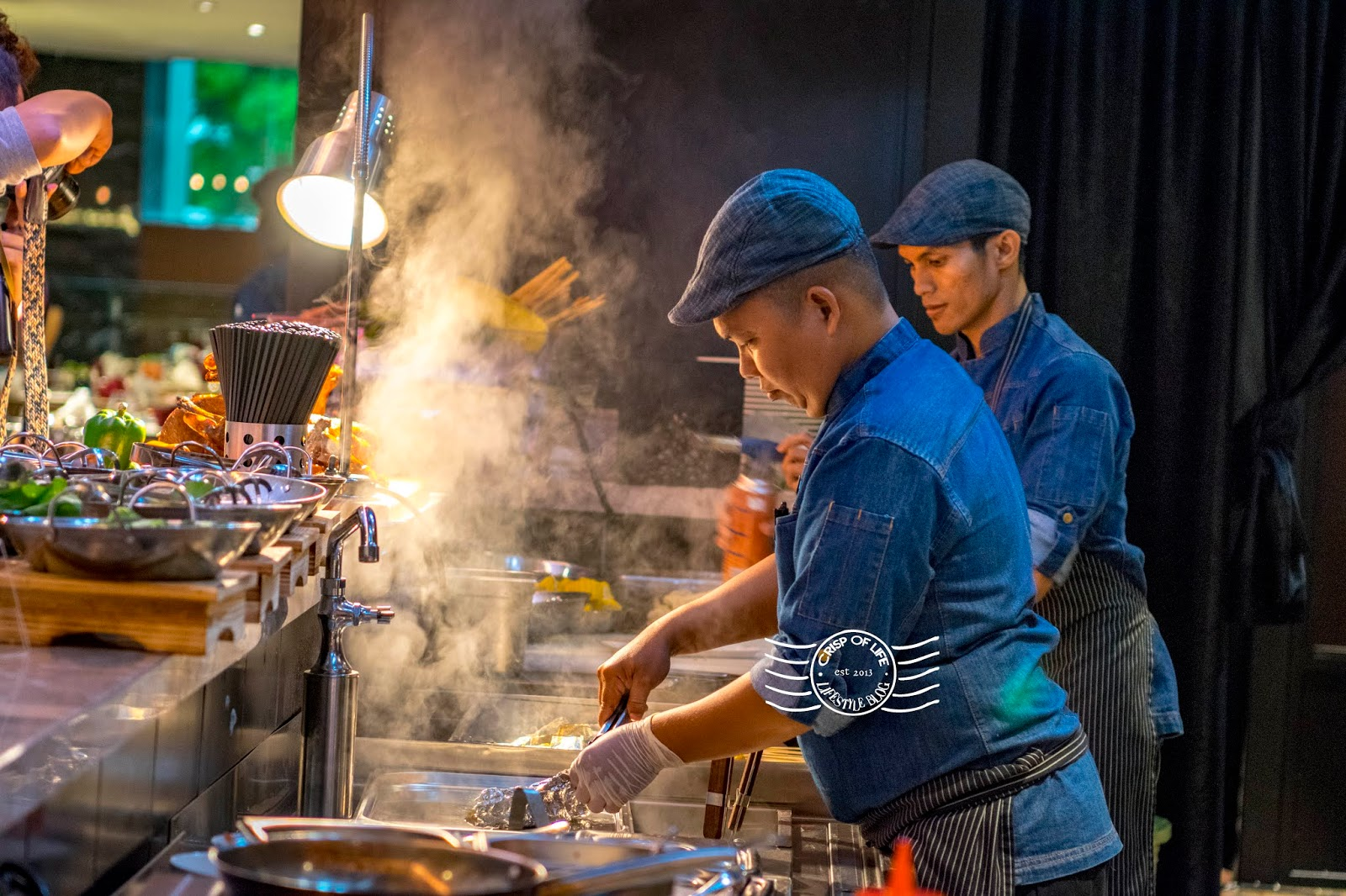 Jazzy Gump Seafood Buffet Dinner with Free Flow of Wine, Beer and Fruit Punch Jazz Hotel Penang