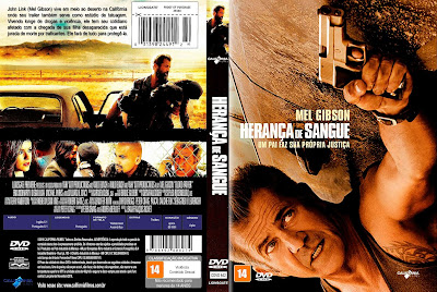 Filme Herança de Sangue (Blood Father) DVD Capa