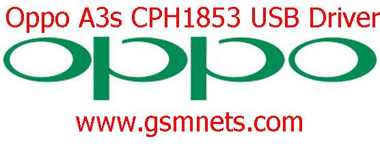 Oppo A3s CPH1853 USB Driver