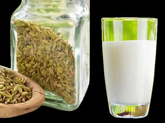 सौंफ वाला दूध पीने के फ़ायदे