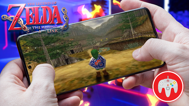 Zelda Ocarina of Time: The Missing Link (Rom Hack) Para Android [ROM N64]