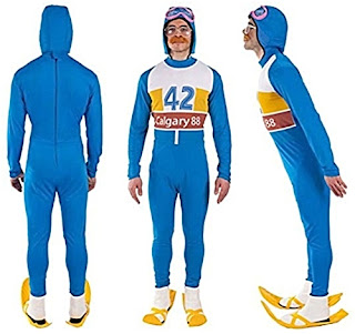 Eddie The Eagle Costume Collage