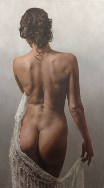Oil Painting, Figure, Nude, Calgary artist, Commission, Art, Realism