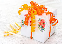 Photo of wrapped gift