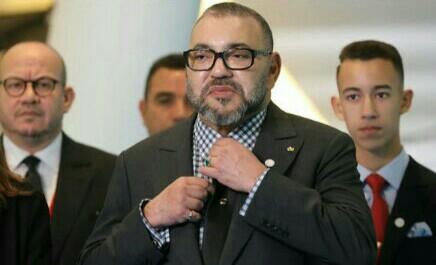 برقية تعزية ومواساة من جلالة الملك محمد السادس نصره الله إلى أفراد أسرة المرحوم الطفل عدنان بوشوف