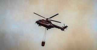 Φωτιά Λαγονήσι: Οι πρώτες εικόνες από τη μεγάλη πυρκαγιά