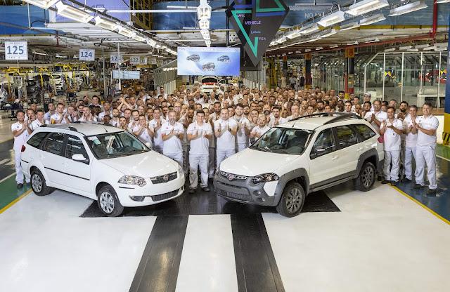Fiat Palio Weekend 2020