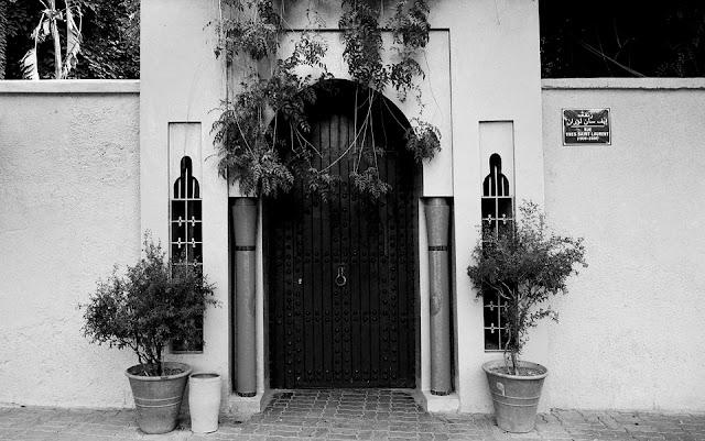 stile architettonico arabo-marrakech-ingresso