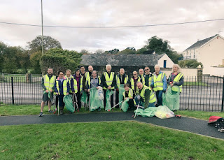 Pontyclun Environment group in action