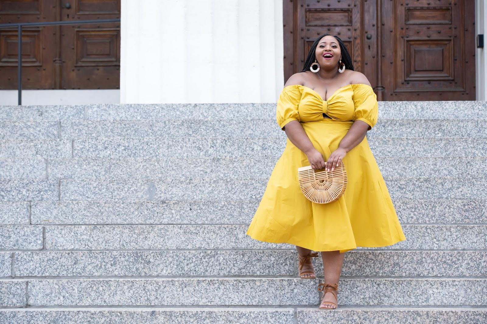 Eloquii Yellow Dress