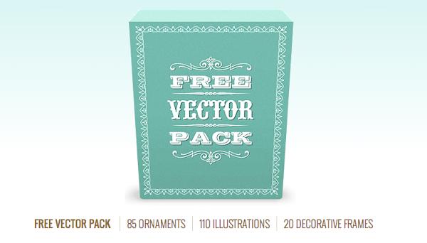 Pack de 215 vectores gratis de figuras decorativas e ilustraciones