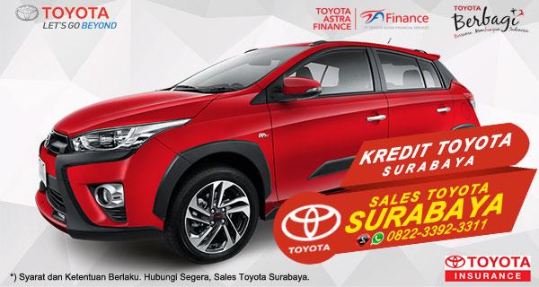 Promo DP Ringan, Paket Kredit Toyota Yaris Heykers Surabaya