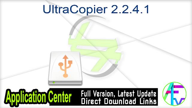 UltraCopier 2.2.4.1