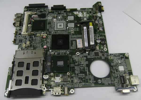 Image result for motherboard laptop rosak