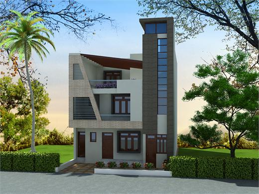 Karve Nagar Pune Triplex House Design