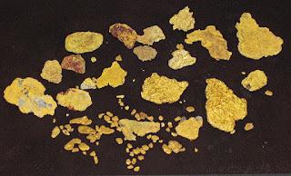 ouro fino ou ouro em flocos