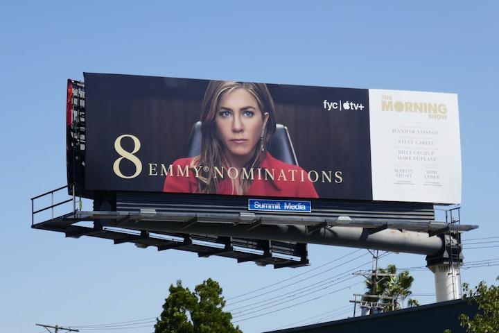 Jennifer Aniston Morning Show Emmy nominee billboard