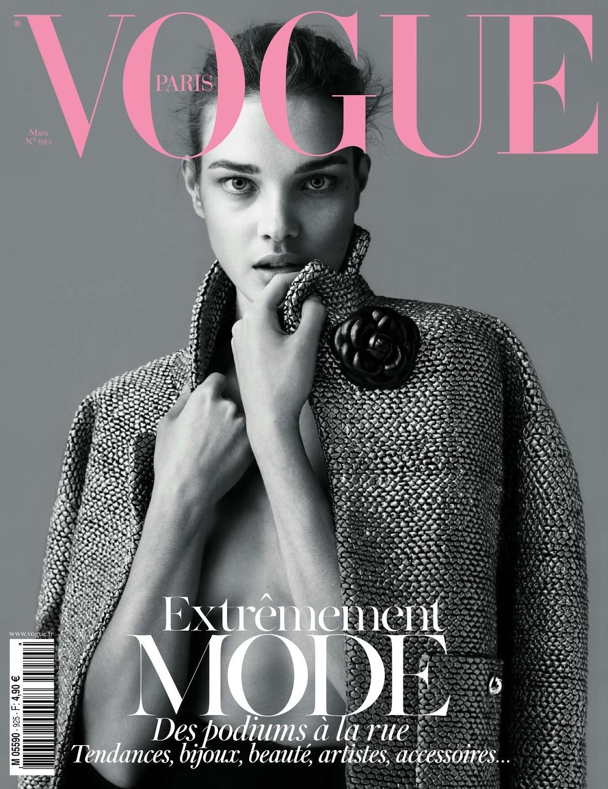 Vogue Magazine Subscription: Vogue's Covers: Natalia Vodianova
