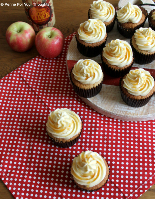Apple Cider & Toffee Cupcakes Recipe
