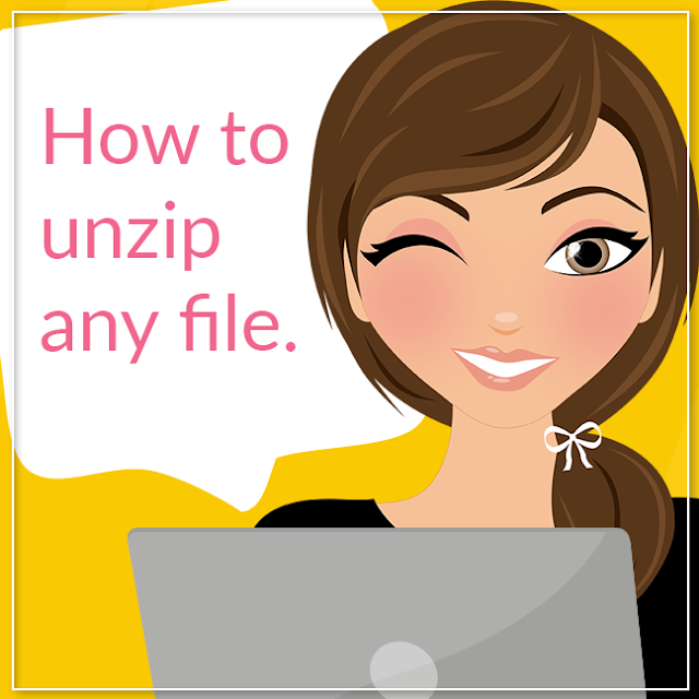 How to Unzip Any File, Lovelytocu.ca