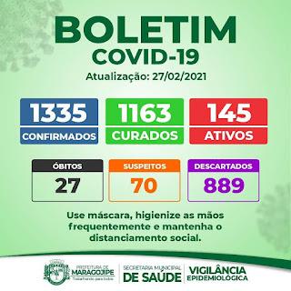 Imagem do Boletim da Prefeitura Municipal de Maragojipe