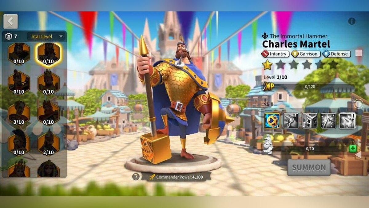 Charles Martel - infantry