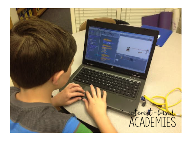 Expand the scope of the traditional elementary education with Academies! Motivate students with this interest-based approach to learning. Ideas for how (and why!) to implement Academies in your classroom included!