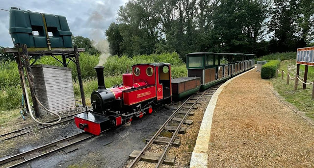 Waveney Valley Railway at Bressingham Steam & Gardens in Diss. Photo by Christopher Gottfried, July 2021