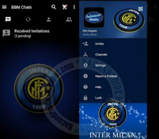 Download BBM Mod Inter Milan Apk
