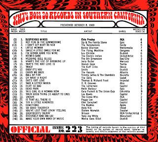 KHJ Boss 30 No. 223 - October 8, 1969