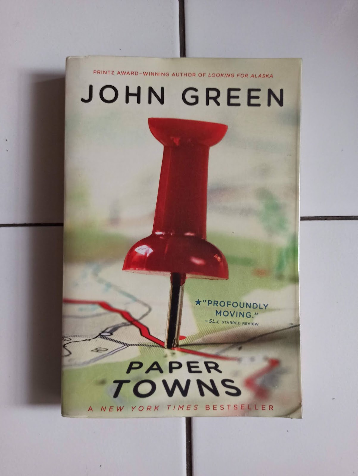 Novel Import Paper Towns by John Green