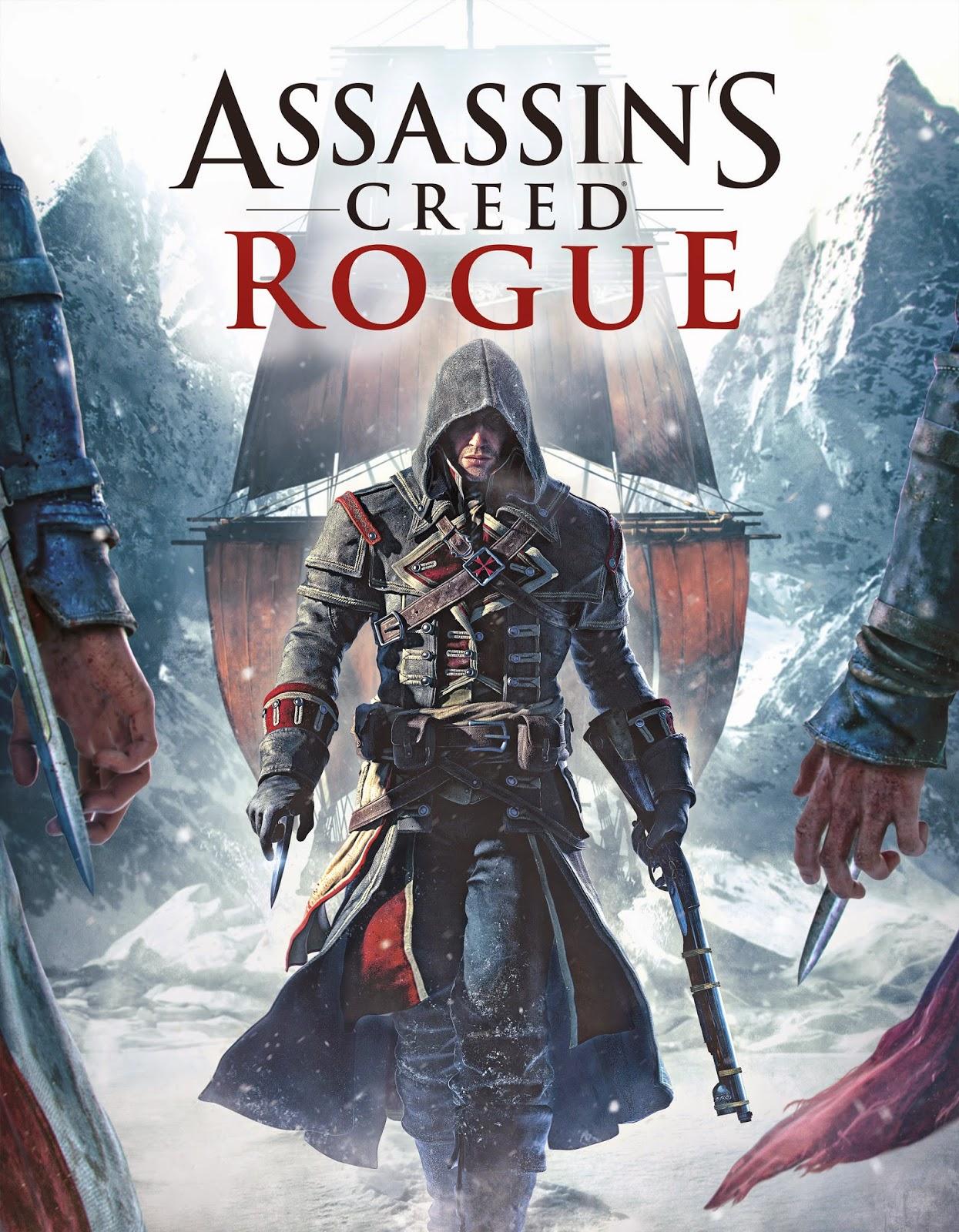 Assassins Creed Rogue Cover Caratula PC