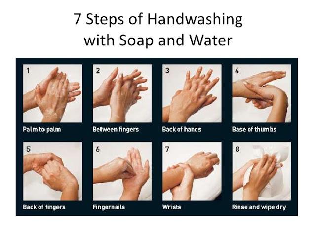 7 Langkah mencuci tangan yang perlu diingat