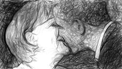 Ein transatlantischer Kuss...^^