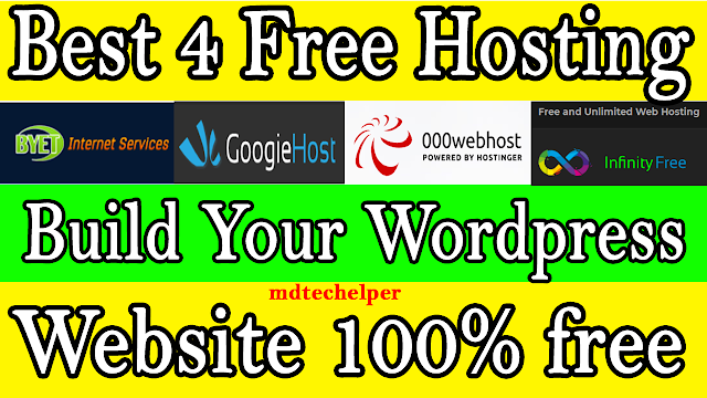 Best 4 Free Web Hosting Website in 2020 (Zero Cost Hosting)