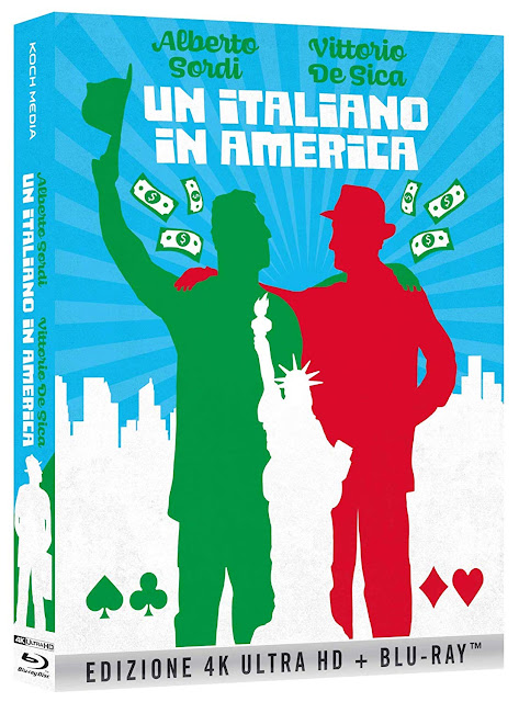 Un Italiano In America Home Video