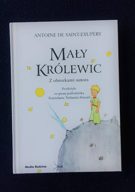 """Recenzje #154 - """"Mały Królewic"""" - okładka książki pt. """"Mały Królewic"""" - Francuski przy kawie"""