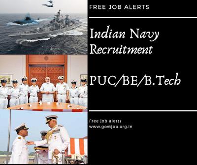 """Indian Navy Recruitment"", ""Navy Jobs"""